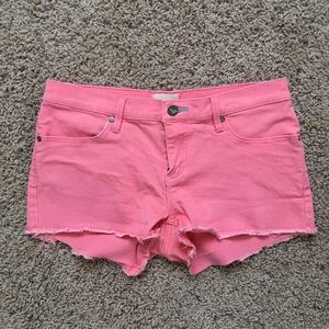 Roxy Coral Denim Shorts